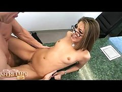 Sexy Secretary Jenna Haze Receives The Cumshawt That Chick Ever Wanted After A Hawt Fuck