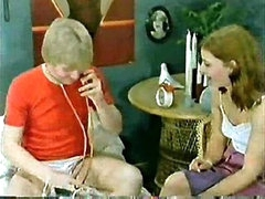 Classic Porn  Family-Kids play doctor and mom joins in Small Dick!