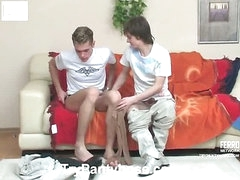 Tommy&Desmond gay pantyhose sex movie