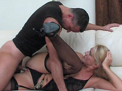 Bridget&Connor raunchy older action