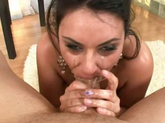 Sexy deep mouth session