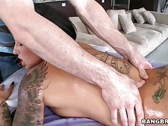 hawt christy mack loves wrapping her lips around a dick
