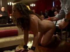 Pretty darling submits to the horny demands of her mistress