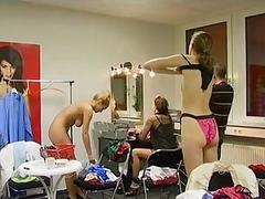 German changing room footage