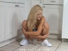 Piss: Ember Golden-haired Teen Model - with superbody