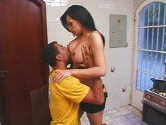 TS maid gets her reward
