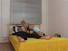 Blond Russian Fucked And Fisted
