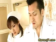 Hot asian nurse slut