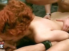 Strap-on Guy red dick tubes