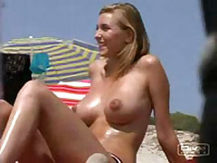 Dilettante sex vid made on the beach
