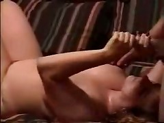 Chubby doll strokes stick