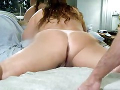 Amateur anal and DP video