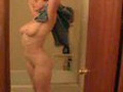 Dude spies his naked wife