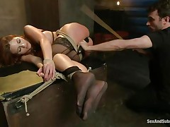 tied, dominated, and ass fucked