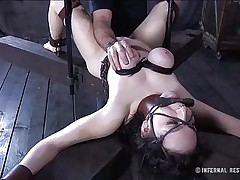 infernal boobs and pussy torture