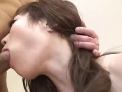 Pretty Japanese star is a fuck slut