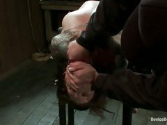 Watch this slave beg for greater quantity as her sweet, tender nipps are tortured.