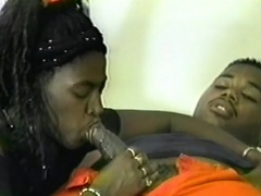Come join those two horny Black bitches as they pamper their cock...