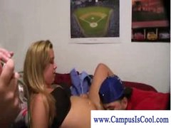 College teen slut in some dorm fuck fun