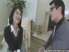 Hawt Asian School Copulates Her Teacher
