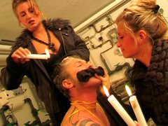 Raunchy Slave Get Wax Treatment