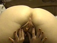 Tempting doll shows pussy