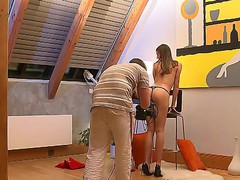Two amazing teens posing on camera totally naked featuring Eufrat Mai and Silvia Saint