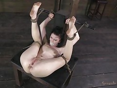 tied up and drilled