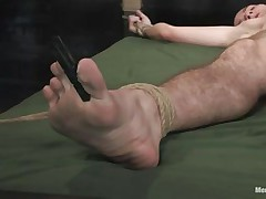 twig boy licking the vagina of his domina