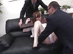 liking it or not she's getting ass fingered