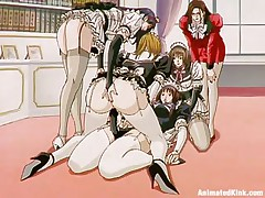 maids doing what the mistress wants and even more
