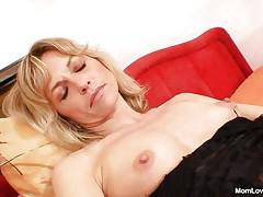 naughty mommy and her vibrator