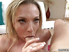 flexible girl sucking dick with her juicy lips