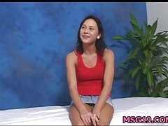 Sweetheart gets cumload on face
