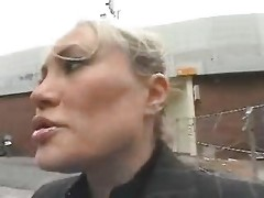 Young Guy Seduce A Busty Mom In The Street And Fuck Her