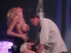 Oral act with blazing hot Briana Banks