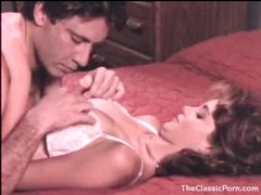 Most beautiful girl in a classic porn fuck video