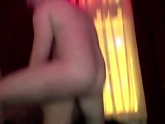 Amateur stud fucks hooker and watches her finger herself