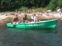 Gangbang boat