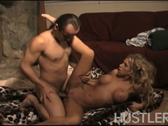 Busty katie morgan rides this wild cock