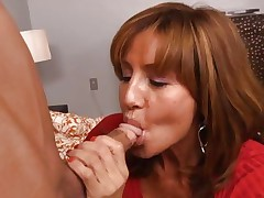 Hottie Tara Holiday rams a hard dick down her throat