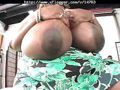Norma Stitz with so huge mounds