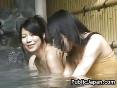 Hot Oriental babe is screwed in the sexy spring 5 by PublicJapan
