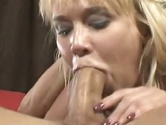 Breasty Cock Whore Carly Parker Giving A Sloppy Mean Oral On Rock Hard Cock
