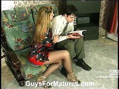 Ramona&Adam kinky mature clip