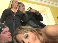 This is hot threesome fuck video with Herschal Savage, Nikki Sexx and Sonny Hicks, chaps got the angel between them and fucking her in two holes at the same time!