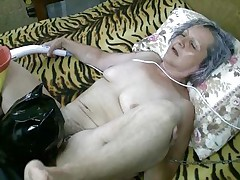old nanny still receives a good fuck