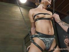 hanged and bound slut