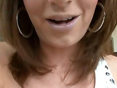 Girl likes to get her loving holes stuffed by big penis