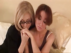 Older Woman Seduces Shy Youthful Girl...F70